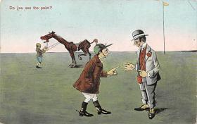 spof021537 - Horse Racing Old Vintage Antique Postcard