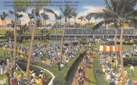 spof021541 - Hollywood, FL USA Horse Racing Old Vintage Antique Postcard