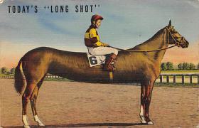 spof021544 - Horse Racing Old Vintage Antique Postcard