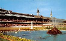 spof021570 - Churchill Downs,  Louisville, KY USA Horse Racing Old Vintage Antique Postcard