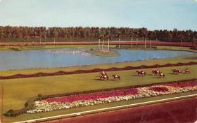 spof021572 - Hialeah Park, Miami, FL USA Horse Racing Old Vintage Antique Postcard