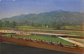 spof021578 - Santa Anita Park Arcadia, CA USA Horse Racing Old Vintage Antique Postcard