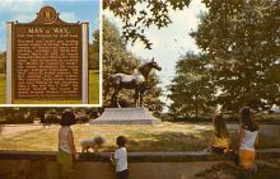 spof021579 - Lexington, KY USA Horse Racing Old Vintage Antique Postcard