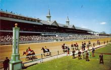 spof021581 - Louisville, KY USA Horse Racing Old Vintage Antique Postcard