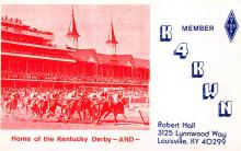 spof021582 - Louisville, KY USA Horse Racing Old Vintage Antique Postcard