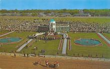 spof021599 - Churchill Downs,  Louisville, KY USA Horse Racing Old Vintage Antique Postcard