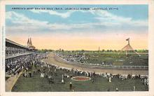 spof021602 - Churchill Downs,  Louisville, KY USA Horse Racing Old Vintage Antique Postcard