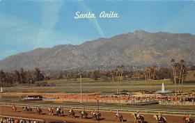 spof021610 - Santa Anita Park Arcadia, CA USA Horse Racing Old Vintage Antique Postcard