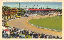 spof021632 - York, PA USA Horse Racing Old Vintage Antique Postcard