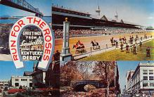 spof021641 - Louisville, KY, USA Home of Churchill Downs Horse Racing Postcard