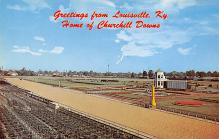 spof021643 - Louisville, KY, USA Home of Churchill Downs Horse Racing Postcard