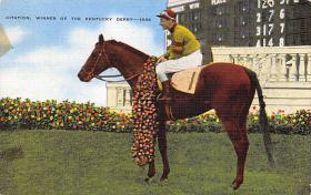 spof021653 - Citation, Winner of the Kentucky Derby Horse Racing Postcard