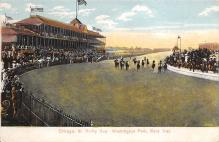 spof021664 - Chicago, IL, USA Derby Day, Washington Park Horse Racing Postcard