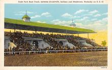 spof021666 - Henderson, KY, USA Dade Park Race Track Horse Racing Postcard
