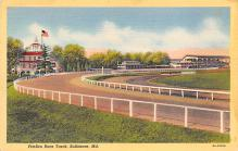 spof021695 - Baltimore, MD, USA Pimlico Race Track Horse Racing Postcard