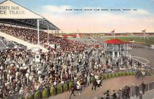 spof021711 - Dallas, TX, USA State Fair Park Horse Racing Postcard