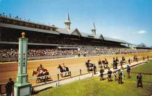 spof021719 - Louisville, KY, USA Churchill Downs Horse Racing Postcard