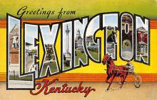 spof021720 - Lexington, KY, USA Horse Racing Postcard