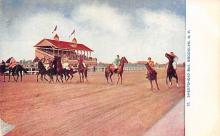 spof021721 - Brooklyn, NY, USA Sheepshead Bay Horse Racing Postcard