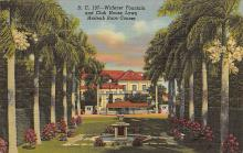 spof021724 - Hialeah, FL, USA Widener Fountain, Hialeah Race Course Horse Racing Postcard