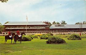 spof021742 - Saratoga, NY, USA Saratoga Race Track Horse Racing Postcard