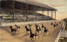 spof021750 - Syracuse, NY, USA State Fair, Trotters Horse Racing Postcard