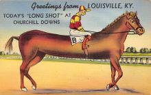 spof021751 - Louisville, KY, USA Horse Racing Postcard