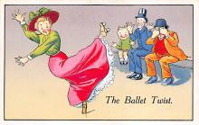 spof022012 - The Ballet Twist Roller Skating Postcard