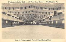 spof022053 - Washington Roller Rink, Washington Pennsylvania, USA, Roller Skating Postcard