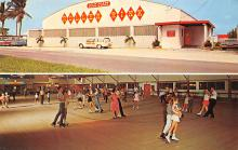 spof022057 - Gold Coast, 2604 South Federal Highway, Ft Lauderdale, Florida USA Roller Skating Postcard