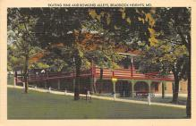 spof022059 - Roller Skating Rink and Bowling Area, Braddock Heights, Maryland, USA  Postcard