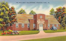 spof022061 - The Wile-Away Rollerdrome, Mountain Home, Pennsylvania, USA Roller Skating Postcard