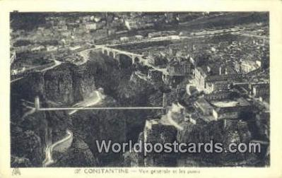 TR00001 - Constantine,  Turkey Postcard Post Card, Kart Postal, Carte Postale, Postkarte, Country Old Vintage Antique