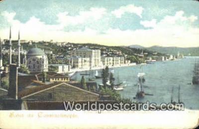 TR00019 - Constantinople, Turkey Postcard Post Card, Kart Postal, Carte Postale, Postkarte, Country Old Vintage Antique