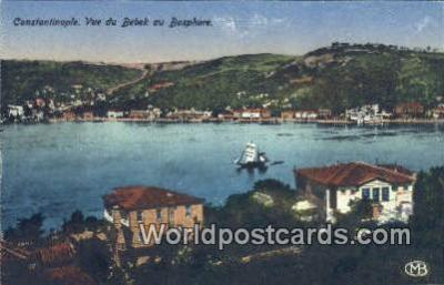 TR00032 - Vue du Bedek au Bosphore Constantinople, Turkey Postcard Post Card, Kart Postal, Carte Postale, Postkarte, Country Old Vintage Antique