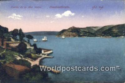 TR00056 - Entrée de la Mer Moire Constantinople, Turkey Postcard Post Card, Kart Postal, Carte Postale, Postkarte, Country Old Vintage Antique