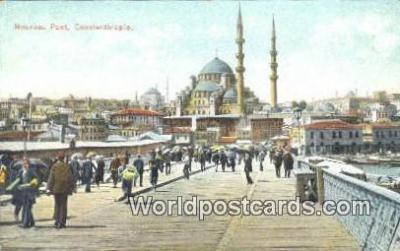 TR00067 - Nouveau Pont Constantinople, Turkey Postcard Post Card, Kart Postal, Carte Postale, Postkarte, Country Old Vintage Antique