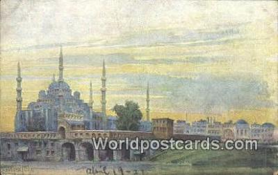 TR00070 - Constantinople, Turkey Postcard Post Card, Kart Postal, Carte Postale, Postkarte, Country Old Vintage Antique