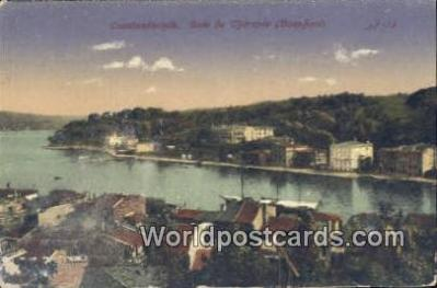 TR00074 - Baie de Therapia (Bosphore) Turkey Postcard Post Card Country Old Vintage Antique