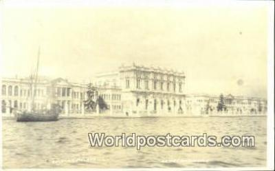 TR00105 - Real Photo - Sultans Palace Constantinople, Turkey Postcard Post Card, Kart Postal, Carte Postale, Postkarte, Country Old Vintage Antique