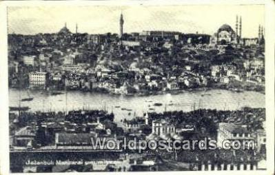 TR00119 - Manzarai Umumiyesi Istanbul, Turkey Postcard Post Card, Kart Postal, Carte Postale, Postkarte Country Old Vintage Antique