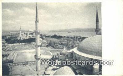 TR00121 - View of Minaret Istanbul, Turkey Postcard Post Card, Kart Postal, Carte Postale, Postkarte Country Old Vintage Antique