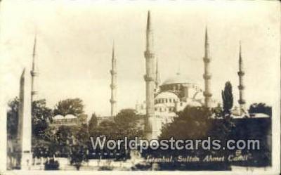 TR00129 - Sultan Ahmet Camii Istanbul, Turkey Postcard Post Card, Kart Postal, Carte Postale, Postkarte Country Old Vintage Antique