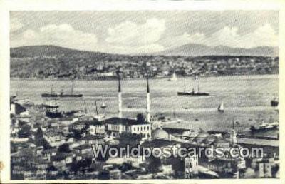 TR00130 - Vue de Sculari Istanbul, Turkey Postcard Post Card, Kart Postal, Carte Postale, Postkarte Country Old Vintage Antique