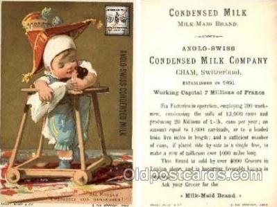 tc000237 - Anglo - Swiss Condensed Milk  --  approx size inches =  3 x 4.75