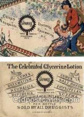 tc000323 - Glycerine Lotion - approx size inches =  2.5 x 3.75