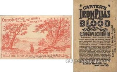 Carters Iron Pills for the Blood Nerves & Complexion