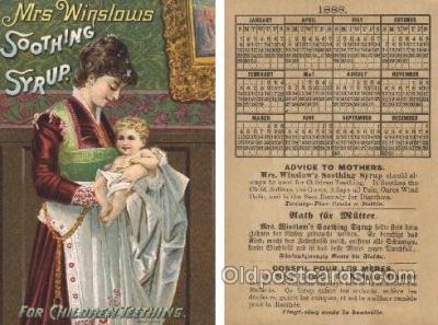 Mrs. Winslows Soothing Syrup, 1888 Cal&er on Back