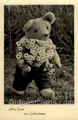 ted002362 - Teddy Bear Postcard Post Card Old Vintage Antique