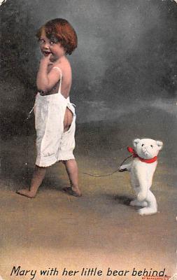 ted004085 - Teddy Bear Post Card